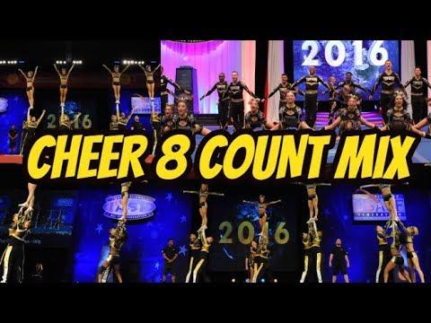 8 Count mix Cheer Practice