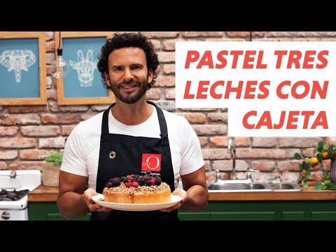 Pastel tres leches con cajeta   📺Chef O TV видео