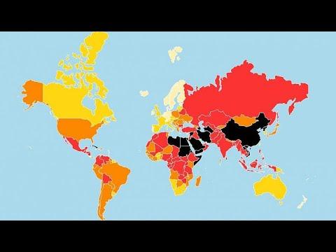 Έκθεση για την ελευθερία του Τύπου στον κόσμο