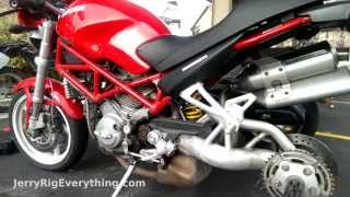 7. Installing a new chain on a Ducati Monster S2R 800