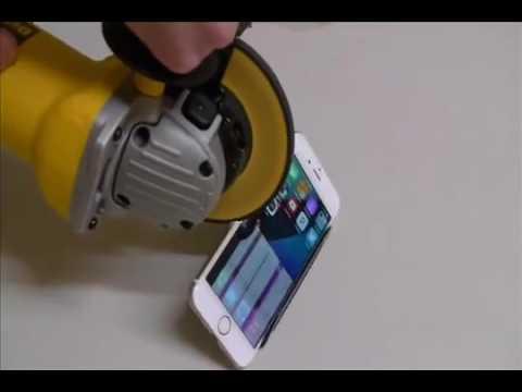 Lấy máy cắt thử độ bền của iphone 6