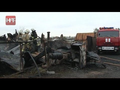 Сегодня ночью в поселке Панковка произошел пожар