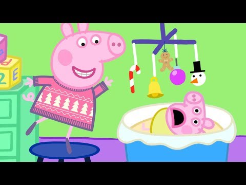Peppa Pig English Episodes  Visiting Cousin Chole's Family   Peppa Pig Christmas