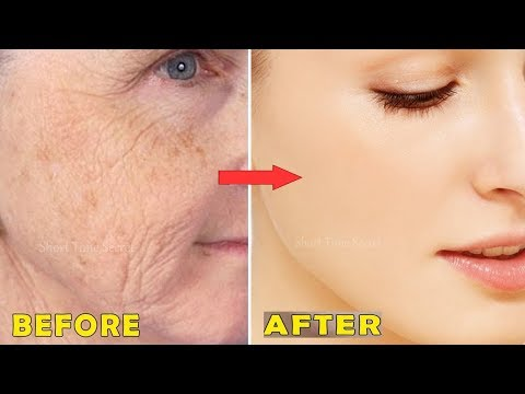 She Is 51 Years Old But Looks Like Just 20 Years | Amazing Skin Whitening & Anti-Aging Secrets Mask