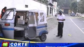 Ataque contra mototaxista en San Bartolomé Becerra