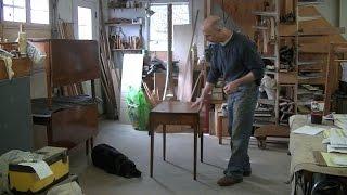 Restoring an Antique Pembroke Table