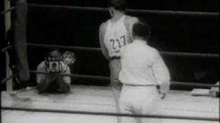 Ingemar Johansson Vs Ed Sanders  - Final of the 1952 Olympics