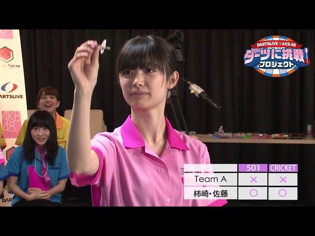 DARTSLIVE x AKB48 ダーツに挑戦!プロジェクト報告