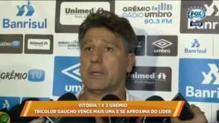 Grêmio vence mais uma e agora tem o melhor ataque da competição