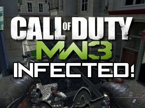 MW3 - Infected Fun and Trolling! (MW3 Infected Hiding Spots and Glitches)