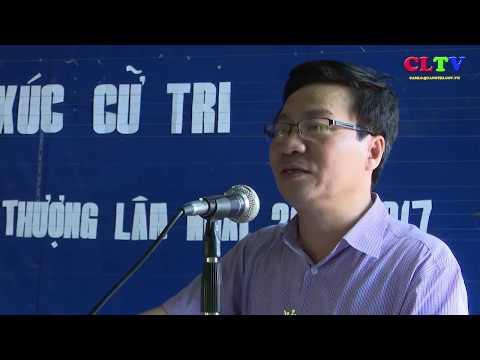 Đại biểu HĐND tỉnh và huyện Cam Lộ tiếp xúc cử tri