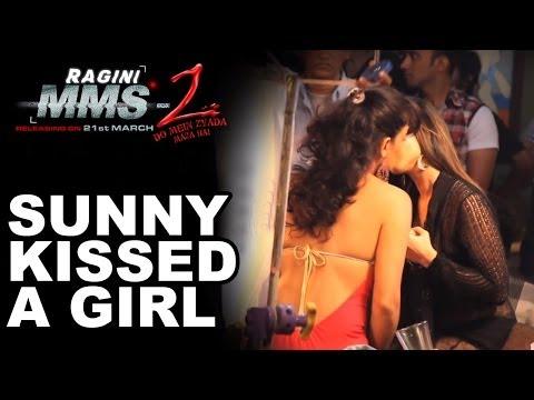 Sunny Leone Smooches A Girl In Ragini MMS 2