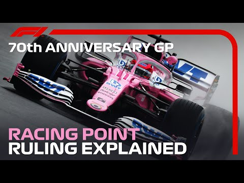 Racing Point Ruling Explained | 70th Anniversary Grand Prix