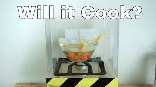 Can You Cook Pasta By Boiling Water in a Vacuum Chamber?
