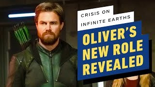 Oliver's New Role Revealed in Crisis on Infinite Earths Part 3 by IGN