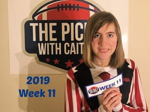 The Pick 6 with Caitlin - 2019 NCAA Picks Week 11
