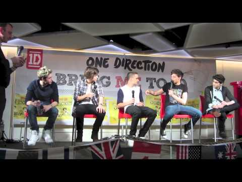 One Direction Q&A - Bring Me To 1D