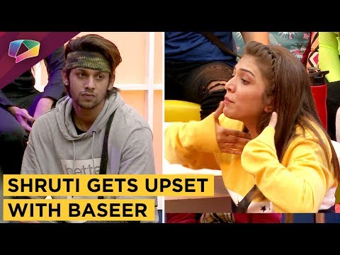 Shruti Sinha Gets Upset With Baseer Ali   MTV Ace Of Space 2