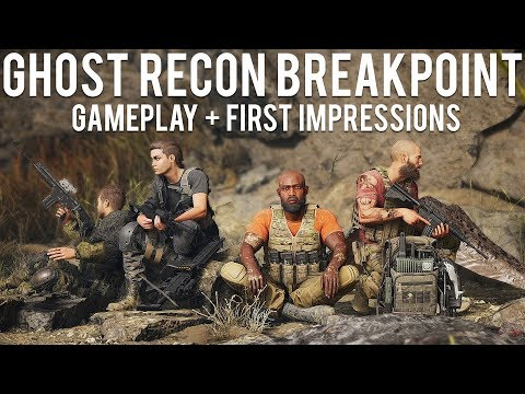 Ghost Recon Breakpoint Gameplay + First Impressions
