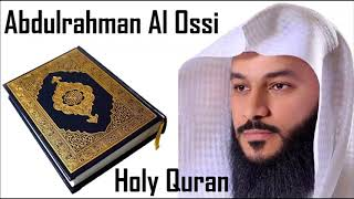 The Complete Holy Quran By Sheikh Abdulrahman Al Ossi 5/6