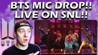 Video BTS: Mic Drop (Live) - SNL REACTION! MP3, 3GP, MP4, WEBM, AVI, FLV Juni 2019