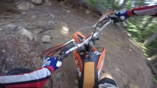 3. 2009 KTM 200 XC-W - First Ride!