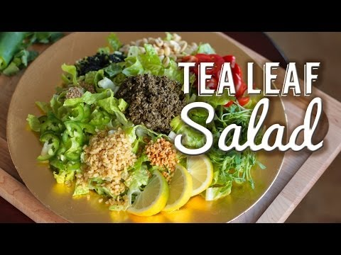 Fermented Tea Leaf Salad Recipe