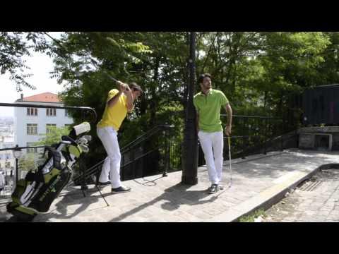 Vêtements de golf BENT CRISS - Making of Collection 2012/2013 part 1