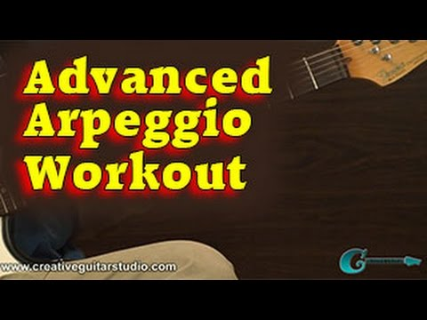 GUITAR THEORY: Advanced Arpeggio Workout