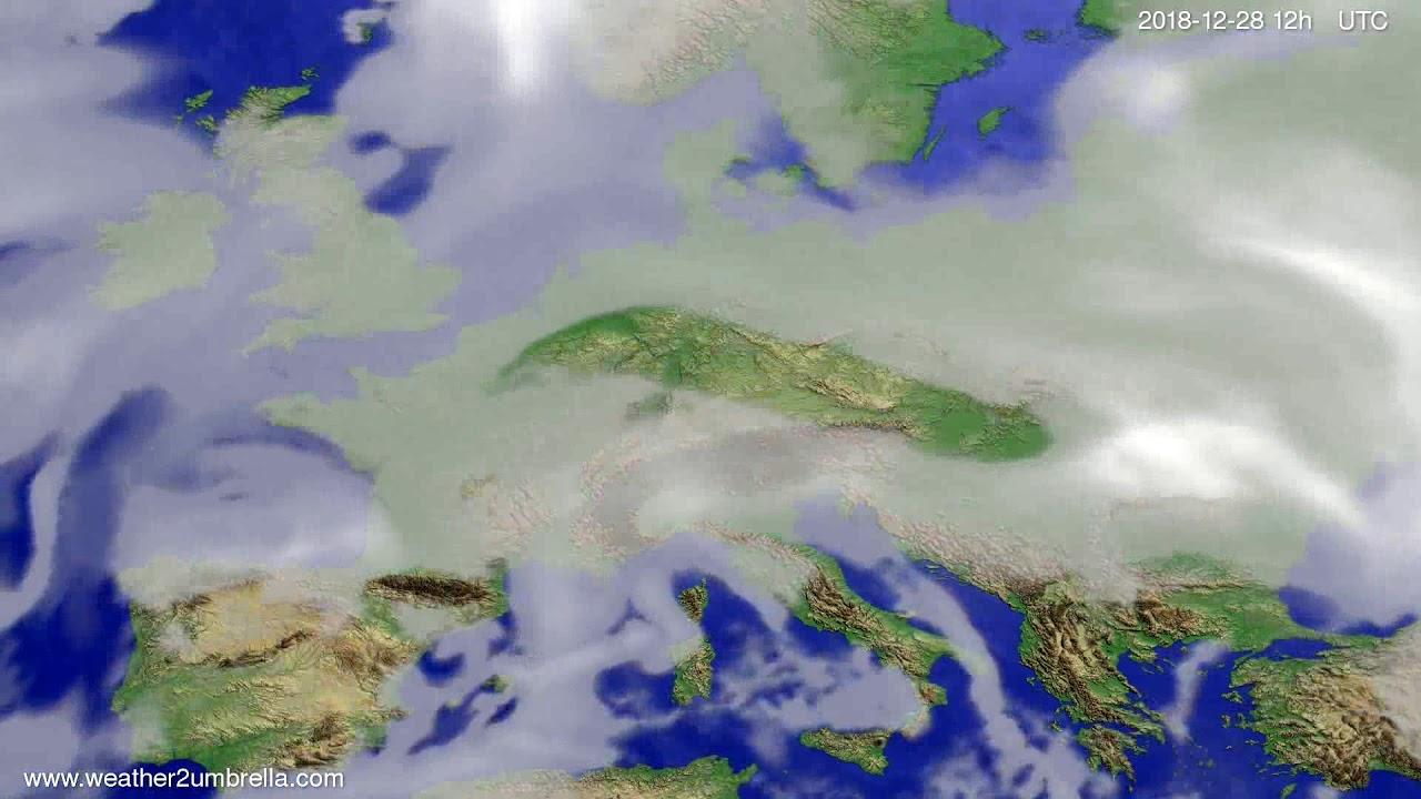 Cloud forecast Europe 2018-12-26