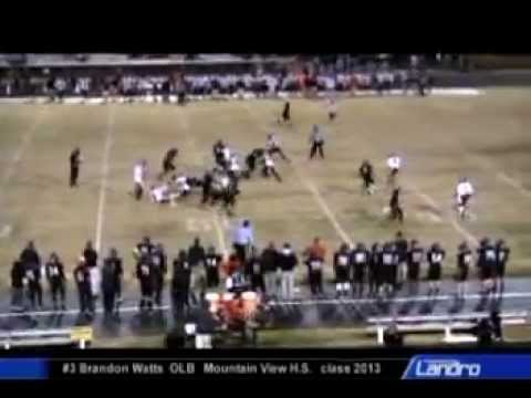 Brandon Watts 2011 High School Highlights video.