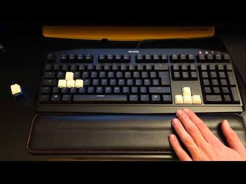 Review - KeyPop GID key caps, Keychain and Filco wrist rest - By TotallydubbedHD