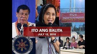 Video UNTV: Ito Ang Balita (July 12, 2018) MP3, 3GP, MP4, WEBM, AVI, FLV Juli 2018