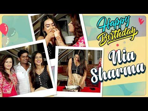 Nia Sharma SURPRISE BIRTHDAY BASH On Sets | Ishq M