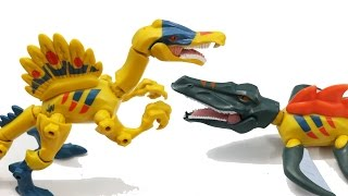 Anh Tom chào các em đến với kênh giải trí Toys4Children. Hôm nay chúng ta sẽ đến với bộ đồ chơi lai ghép khủng long Jurassic World. Bộ đồ chơi gồm có 2 chú khủng long Spinosaurusvà Mosasaurus. Chúng ta có thể pha trộn các bộ phận giữa 2 chú khủng long này để tạo ra những chú khủng long lai ghép ngộ nghĩnh đó.Video made by Toys4Children (Toys for children)Please LIKE & SUBSCRIBEToys4Children - Kênh dành cho trẻ emToys4Children is a channel for children
