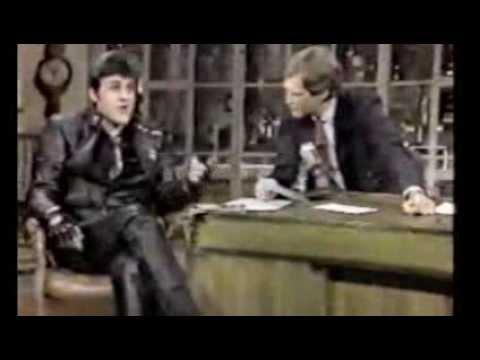 Jay Leno @ David Letterman, January 1985