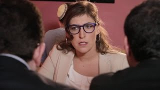 A blind date for Leizer with the perfect woman turns into a battle of nebbish proportions. Starring Mayim Bialik. Created by Jamie Elman & Eli Batalion Music by ...