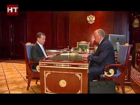 Губернатор Сергей Митин находится с рабочим визитом в Москве