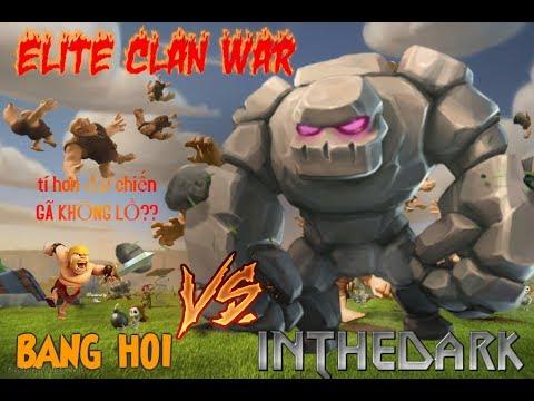 [TRỰC TIẾP] WAR CLAN BANG HOI vs INTHEDARK HIGHLIGHTS
