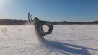 4. 2010 Arctic cat snopro 600 sx wheelies