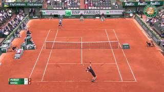 Tennis Highlights, Video - [HD]A. Murray v. J. Sousa 2015 French Open Men's R64 Highlights