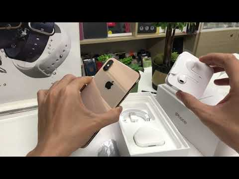 Mở hộp iPhone XS Max Gold