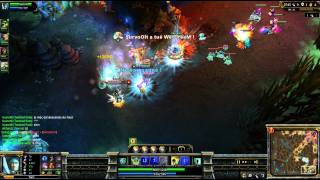 (HD 024) 5c5 aAa Kujaa - Part 1 - League Of Legends Replay [FR]