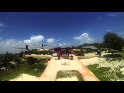 crushkrew - Wood Hexacopter onboard vid.