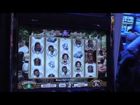 A look at some new WMS slot machines displayed at the Global Gaming Expo in Las Vegas