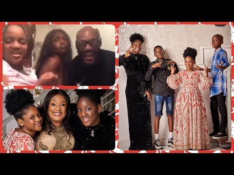 2FACE IDIBIA'S DAUGHTERS SHOWCASE THEIR GREAT TALENT#SEE 2BABAS PRETTY MUM AND HIS PRETTY GROWN DAUG