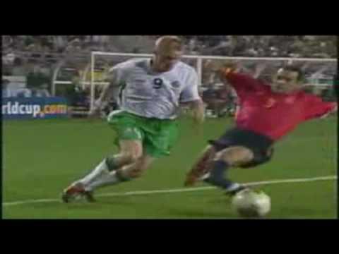 Los goles de España en el Mundial Korea-Japón 2002