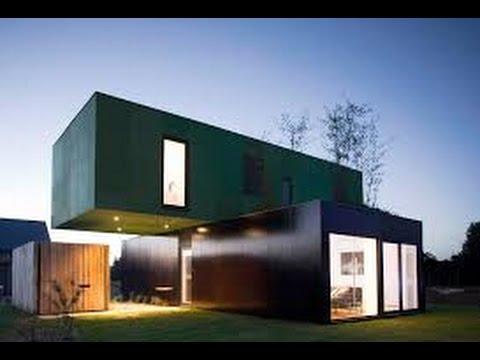 case di design realizzate con container