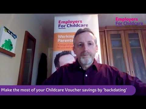 Make the most of your Childcare Voucher savings by backdating