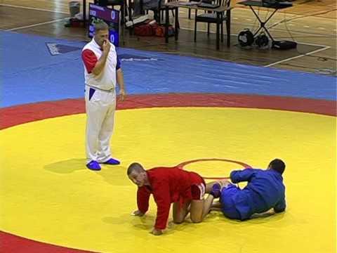 Чемпионат мира по самбо среди ветеранов (видео)